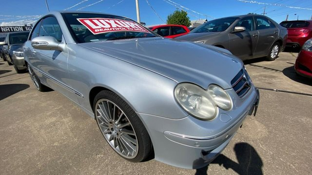 Used Mercedes-Benz CLK-Class A209 MY06 CLK200 Kompressor Avantgarde Maidstone, 2005 Mercedes-Benz CLK-Class A209 MY06 CLK200 Kompressor Avantgarde Silver 5 Speed Automatic Coupe