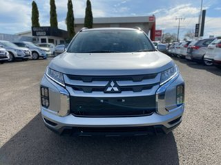 2021 Mitsubishi ASX XD MY21 LS 2WD Silver 1 Speed Constant Variable Wagon