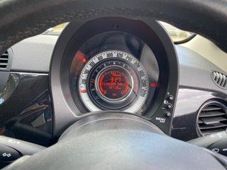 2013 Fiat 500 Series 1 S Dualogic Black 5 Speed Sports Automatic Single Clutch Hatchback
