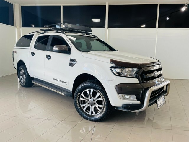 Used Ford Ranger PX MkII Wildtrak Double Cab Deer Park, 2016 Ford Ranger PX MkII Wildtrak Double Cab White 6 Speed Sports Automatic Utility