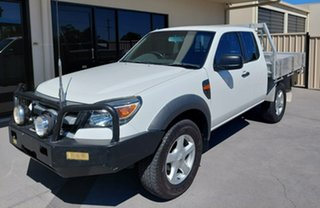 2011 Ford Ranger PK XL White 5 Speed Manual Cab Chassis