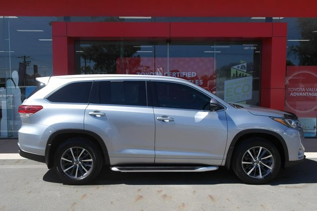 Pre-Owned Toyota Kluger GSU50R GXL 2WD Swan Hill, 2017 Toyota Kluger GSU50R GXL 2WD Silver 8 Speed Sports Automatic Wagon