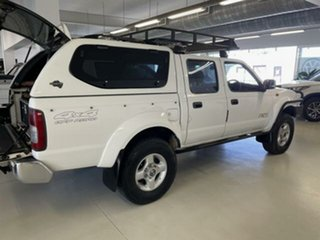 2011 Nissan Navara D22 MY08 ST-R (4x4) White 5 Speed Manual Dual Cab Pick-up