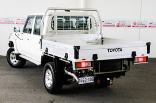 2017 Toyota Landcruiser LC70 VDJ79R MY17 GXL (4x4) French Vanilla 5 Speed Manual Double Cab Chassis