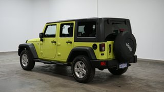 2016 Jeep Wrangler JK MY2016 Unlimited Sport Green 5 Speed Automatic Softtop.