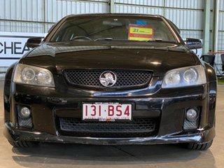 2006 Holden Commodore VE SS V Black 6 Speed Manual Sedan