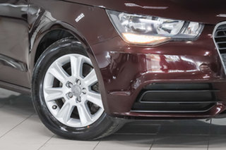 2011 Audi A1 8X MY11 Attraction S Tronic Red 7 Speed Sports Automatic Dual Clutch Hatchback
