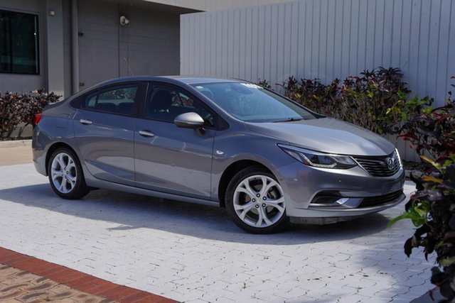 Used Holden Astra BL MY17 LT Cairns, 2017 Holden Astra BL MY17 LT Satin Steel Grey 6 Speed Sports Automatic Sedan