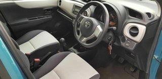 2014 Toyota Yaris NCP130R YR Blue 5 Speed Manual Hatchback