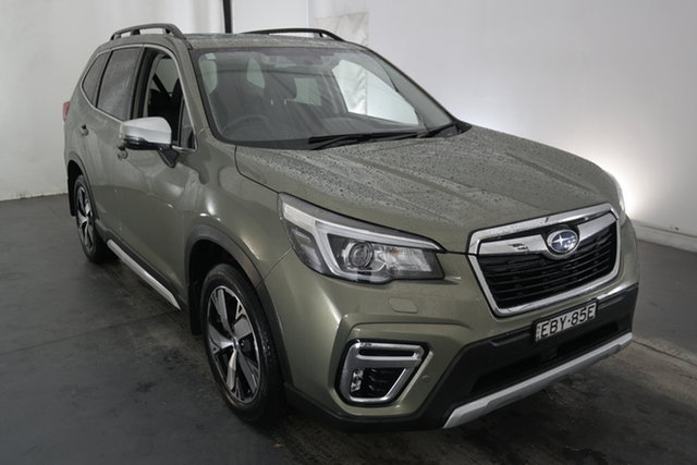 Used Subaru Forester S5 MY19 2.5i-S CVT AWD Maryville, 2019 Subaru Forester S5 MY19 2.5i-S CVT AWD Jasper Green 7 Speed Constant Variable Wagon