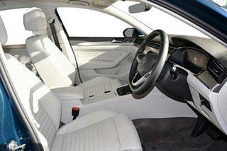 2021 Volkswagen Passat 3C (B8) MY21 162TSI DSG Elegance Aquamarine Blue Metallic 6 Speed