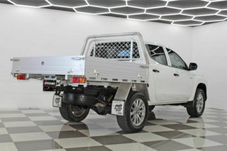 2019 Mitsubishi Triton MR MY19 GLX (4x4) White 6 Speed Automatic Double Cab Pick Up