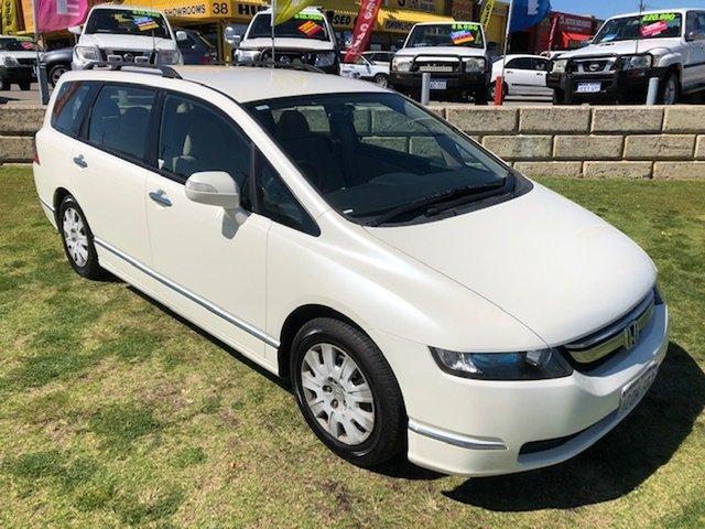 Used Honda Odyssey 3rd Gen MY07 Wangara, 2007 Honda Odyssey 3rd Gen MY07 White 5 Speed Sports Automatic Wagon