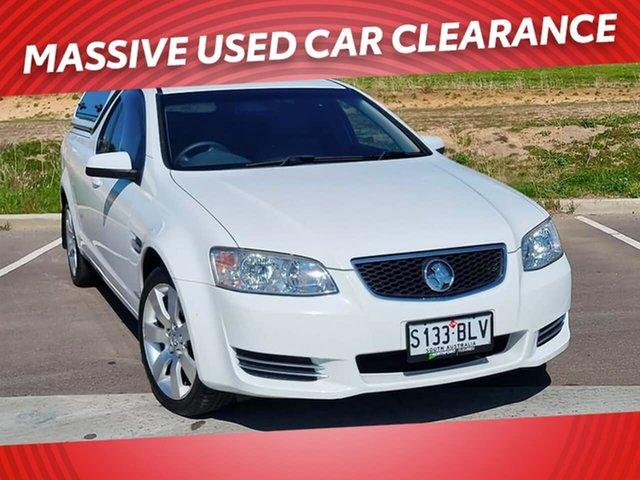 Used Holden Ute VE II MY12.5 Omega Victor Harbor, 2013 Holden Ute VE II MY12.5 Omega White 6 Speed Sports Automatic Utility