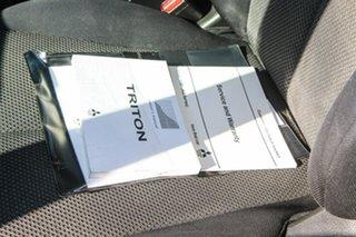 2015 Mitsubishi Triton MQ MY16 GLS Double Cab Green 6 Speed Manual Utility