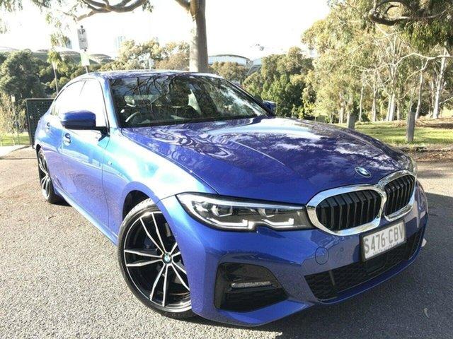 Used BMW 3 Series G20 330i Steptronic M Sport Adelaide, 2018 BMW 3 Series G20 330i Steptronic M Sport Blue 8 Speed Sports Automatic Sedan