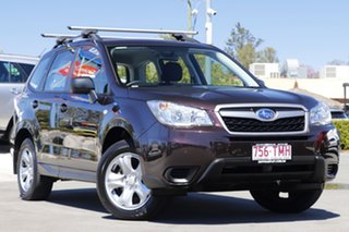 2013 Subaru Forester S4 MY13 2.0i AWD Cherry Red 6 Speed Manual Wagon.