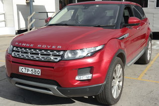 2014 Land Rover Range Rover Evoque L538 MY14 Coupe Prestige Red 9 Speed Sports Automatic Wagon.