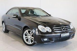 2006 Mercedes-Benz CLK-Class A209 MY06 CLK200 Kompressor Avantgarde Black 5 Speed Automatic Coupe.