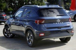 2021 Hyundai Venue Qx.v4 MY22 Elite The Denim 6 Speed Automatic Wagon.