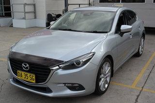 2017 Mazda 3 BN5438 SP25 SKYACTIV-Drive GT Silver 6 Speed Sports Automatic Hatchback.