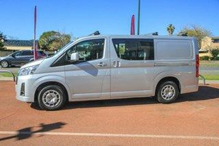 2019 Toyota HiAce GDH300R LWB Silver 6 Speed Sports Automatic Van.