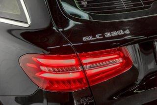 2017 Mercedes-Benz GLC-Class X253 807MY GLC220 d 9G-Tronic 4MATIC Black 9 Speed Sports Automatic