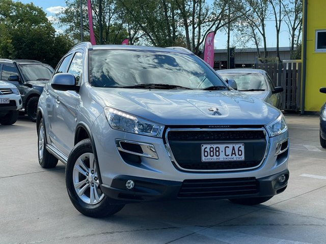 Used Peugeot 4008 MY12 Active 2WD Toowoomba, 2012 Peugeot 4008 MY12 Active 2WD Silver 6 Speed Constant Variable Wagon