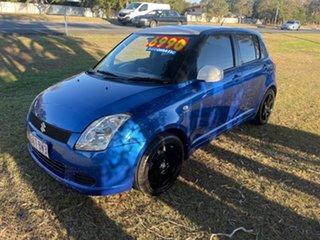 2006 Suzuki Swift RS415 Blue 4 Speed Automatic Hatchback.