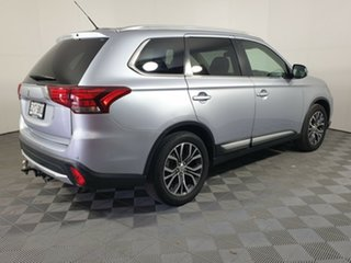 2016 Mitsubishi Outlander ZK MY16 XLS 2WD Cool Silver 6 Speed Constant Variable Wagon