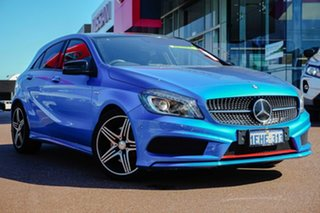 2013 Mercedes-Benz A-Class W176 A250 D-CT Sport Blue 7 Speed Sports Automatic Dual Clutch Hatchback.