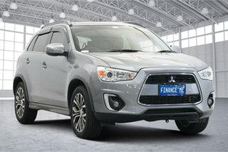 2015 Mitsubishi ASX XB MY15.5 LS 2WD Grey 6 Speed Constant Variable Wagon.