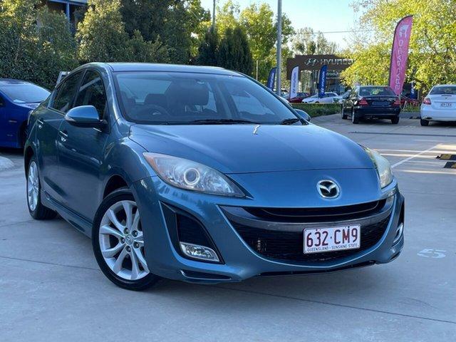 Used Mazda 3 BL10L1 SP25 Activematic Toowoomba, 2009 Mazda 3 BL10L1 SP25 Activematic Blue 5 Speed Sports Automatic Sedan