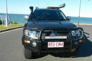 2013 Mitsubishi Triton MN MY13 GLX-R Double Cab Brown 5 Speed Manual Utility
