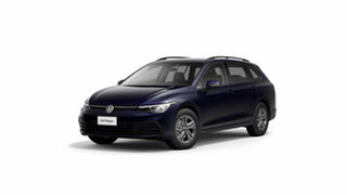 2021 Volkswagen Golf 8 110TSI Atlantic Blue 8 Speed Automatic Wagon.