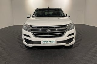 2017 Holden Colorado RG MY17 LS Pickup Crew Cab 4x2 White 6 speed Automatic Utility.