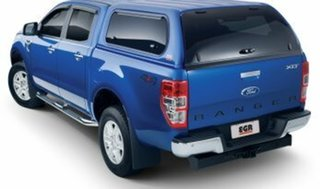 2013 Ford Ranger PX XLT 3.2 (4x4) Blue 6 Speed Automatic Dual Cab Utility.
