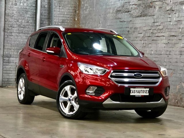 Used Ford Escape ZG Trend Mile End South, 2017 Ford Escape ZG Trend Red 6 Speed Sports Automatic SUV