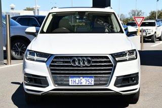 2017 Audi Q7 4M MY17 TDI Tiptronic Quattro White 8 Speed Sports Automatic Wagon