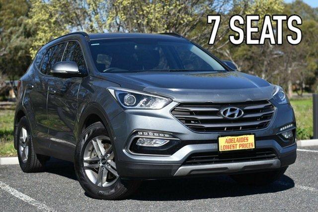 Used Hyundai Santa Fe DM3 MY17 Active Enfield, 2017 Hyundai Santa Fe DM3 MY17 Active Grey 6 Speed Sports Automatic Wagon