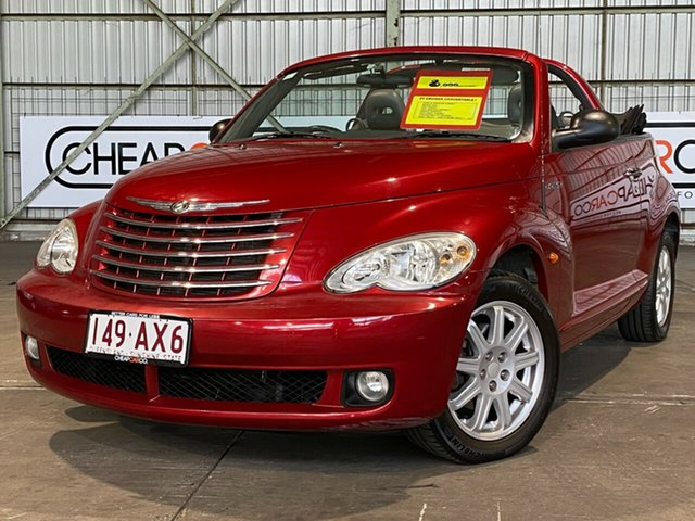 Used Chrysler PT Cruiser PG MY2007 Touring Rocklea, 2007 Chrysler PT Cruiser PG MY2007 Touring Red 5 Speed Manual Convertible