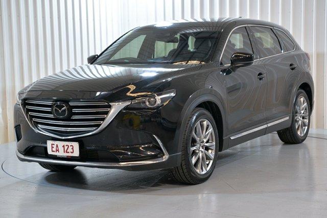Used Mazda CX-9 TC Azami SKYACTIV-Drive i-ACTIV AWD Hendra, 2017 Mazda CX-9 TC Azami SKYACTIV-Drive i-ACTIV AWD Black 6 Speed Sports Automatic Wagon