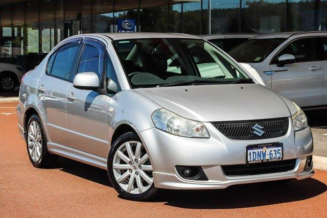 Used Suzuki SX4 GYC S Gosnells, 2009 Suzuki SX4 GYC S Silver 4 Speed Automatic Sedan