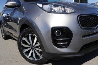 2015 Kia Sportage QL MY16 SLi 2WD Mineral Silver 6 Speed Sports Automatic Wagon.