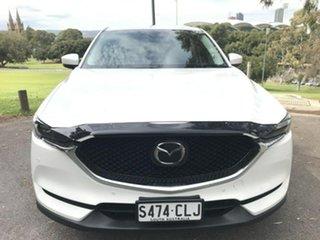 2017 Mazda CX-5 KE1022 Akera SKYACTIV-Drive i-ACTIV AWD White 6 Speed Sports Automatic Wagon.
