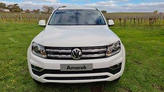 2021 Volkswagen Amarok 2H MY21 TDI550 4MOTION Perm Sportline Candy White 8 Speed Automatic Utility.