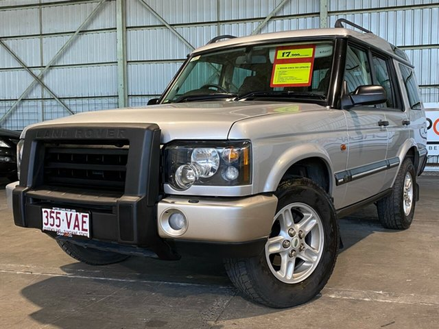 Used Land Rover Discovery 03MY Td5 Rocklea, 2003 Land Rover Discovery 03MY Td5 Silver 4 Speed Automatic Wagon