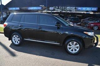 2013 Toyota Kluger GSU40R MY13 Upgrade KX-R (FWD) 7 Seat Black 5 Speed Automatic Wagon