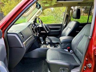 2018 Mitsubishi Pajero NX MY18 Exceed Terra Rossa 5 Speed Sports Automatic Wagon