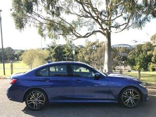 2018 BMW 3 Series G20 330i Steptronic M Sport Blue 8 Speed Sports Automatic Sedan.